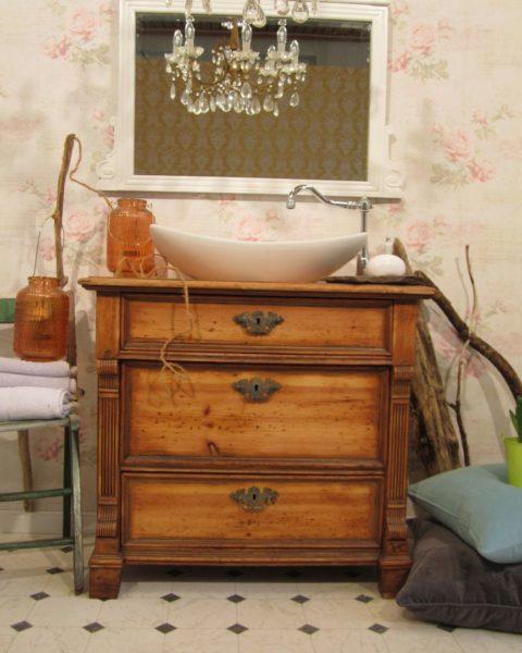 Fist Love - Landhaus Waschtisch Holz
