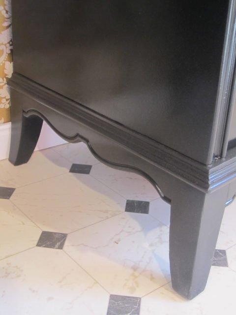Schwarzgold - Waschtisch individuell, Badmoebel Luxus, Badmoebel Landhaus, Waschtisch schwarz
