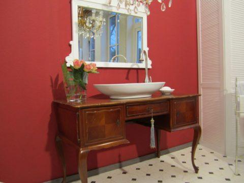 Der englische Patient - Waschtisch antik Landhaus