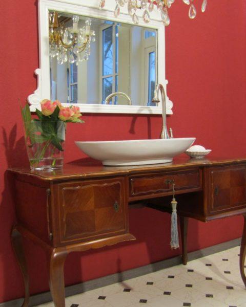 Der englische Patient - Waschtisch antik Landhaus, Landhaus Badmoebel, Badmoebel Landhaus,