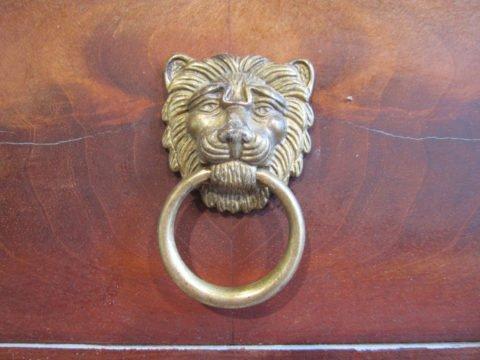 Panthera Leo - Doppelwaschtisch antik