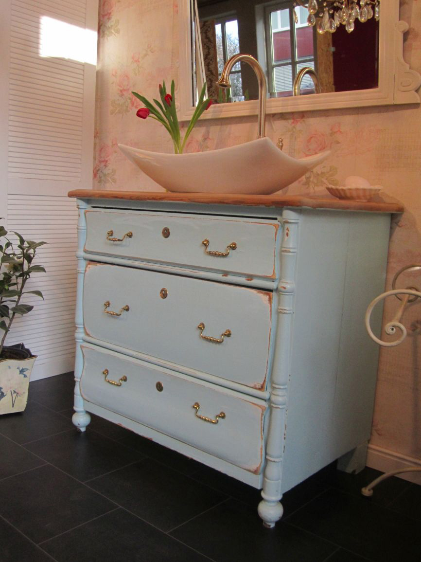 landhaus waschtisch shabby chic baby blue 3 wasserheimat. Black Bedroom Furniture Sets. Home Design Ideas