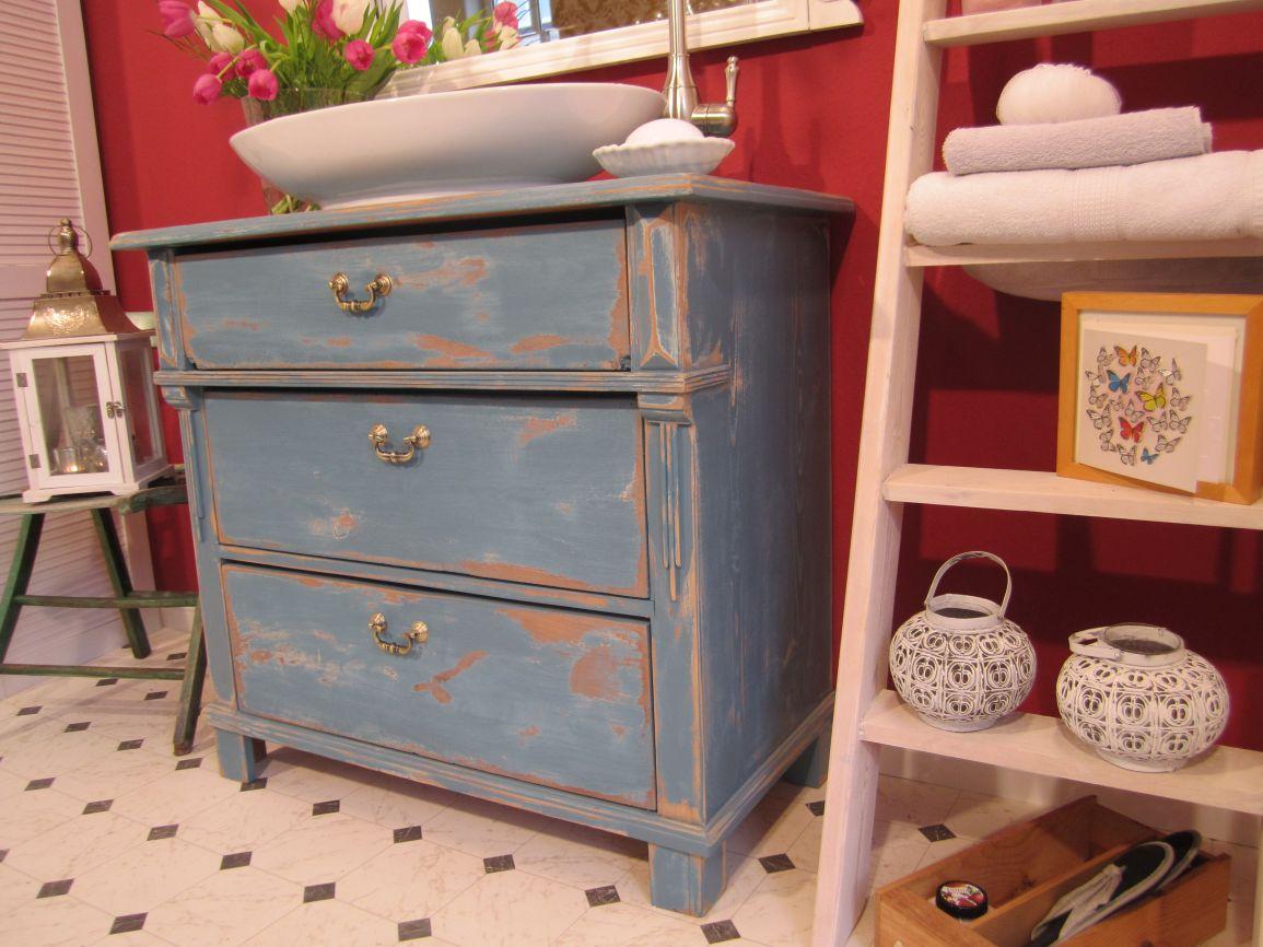 Blue Moon – Landhaus Badmöbel shabby chic