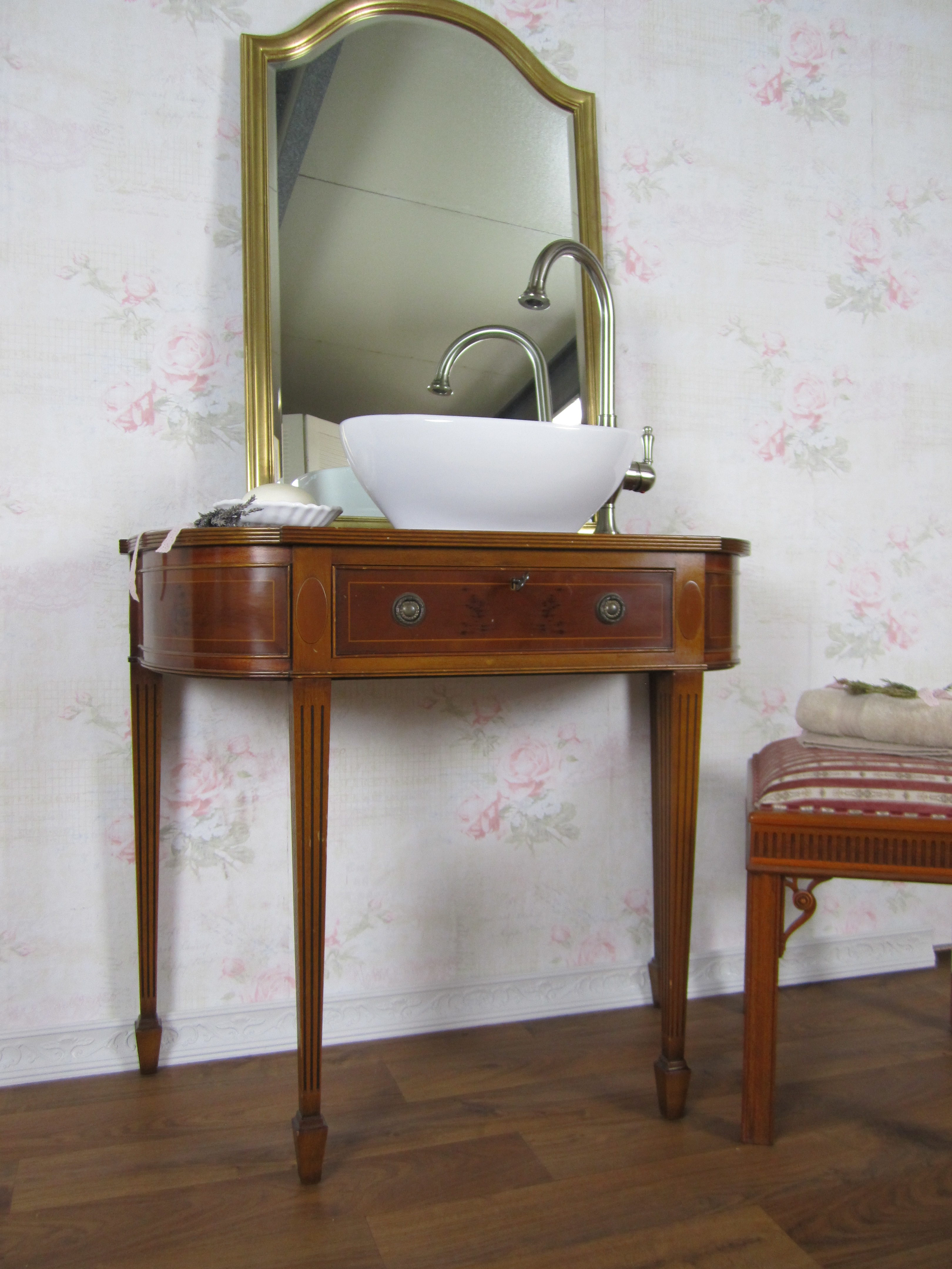 nostalgischer waschtisch landhaus wasserheimat