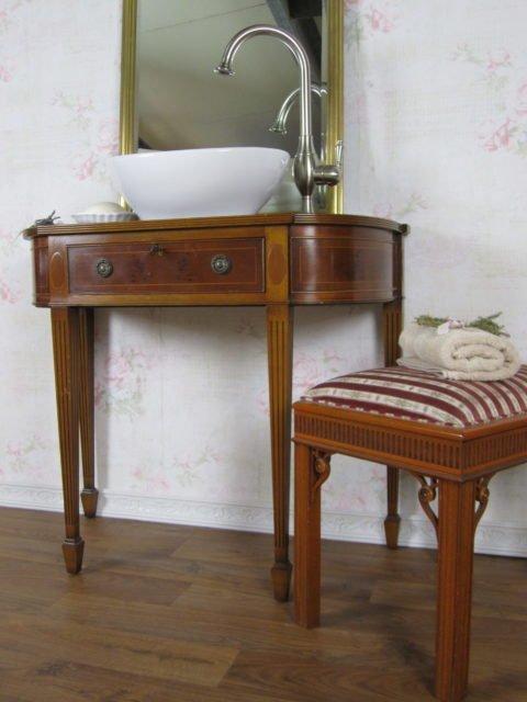 """Nostalgischer Landhaus Waschtisch """"Earl Grey"""""""