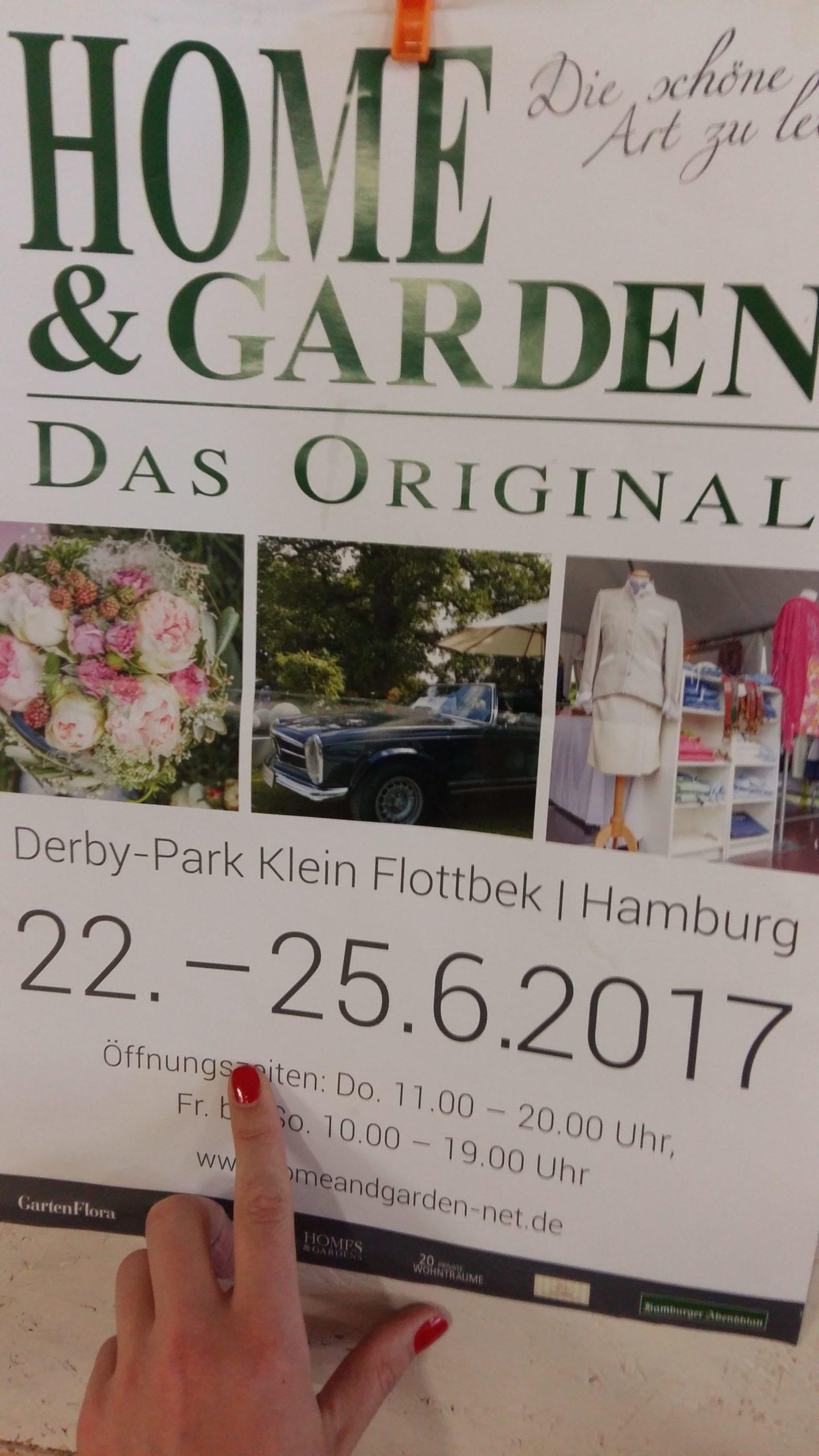 Ausstellung Home & Garden 2017