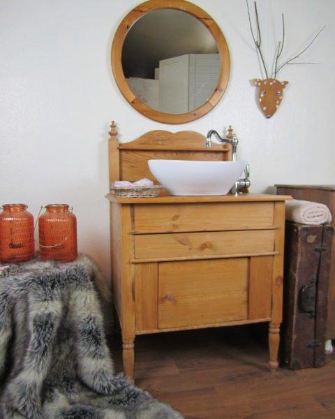 Montale-Waschtisch Holz