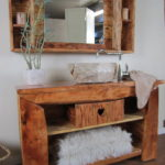 Badmöbel Rustikal ein badmöbel rustikal im gemütlichen chalet stil wasserheimat
