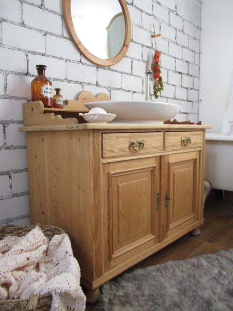 Amber sun - Waschschrank Landhaus