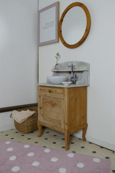 »Sweetie« – Waschtisch- Naturholz- dänischer Landhauschic (14)