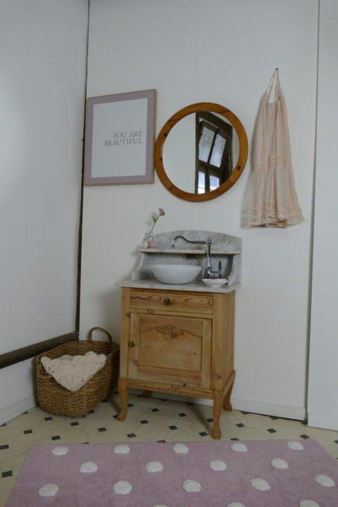 »Sweetie« – Waschtisch- Naturholz- dänischer Landhauschic (15)