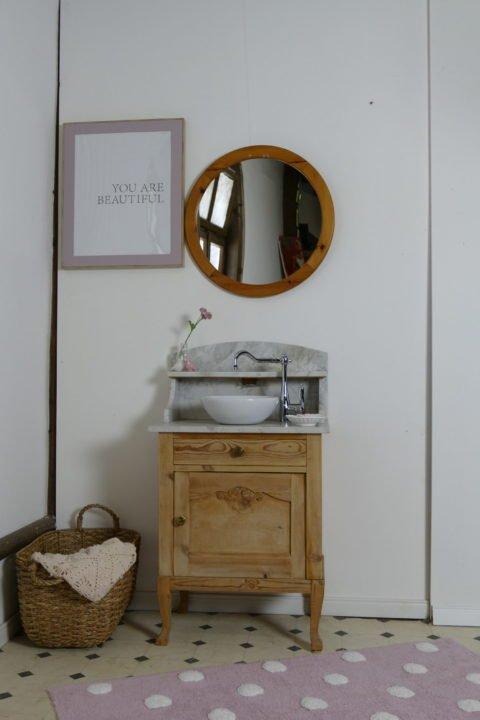 »Sweetie« – Waschtisch- Naturholz- dänischer Landhauschic (6)