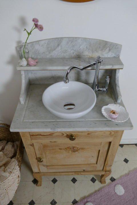 »Sweetie« – Waschtisch- Naturholz- dänischer Landhauschic (8)