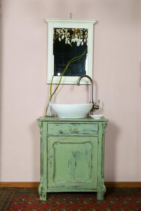 Waschkommode-Vintage-Cotton-green-Landhausstil