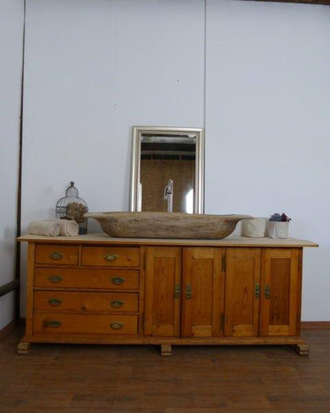 Waschtisch- Landhaus-groß-Doppelwaschtisch