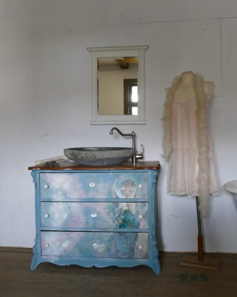 Badmoebel-Landhaus-Vintage-Jugendstil-Alphonse-Mucha-art nuveau